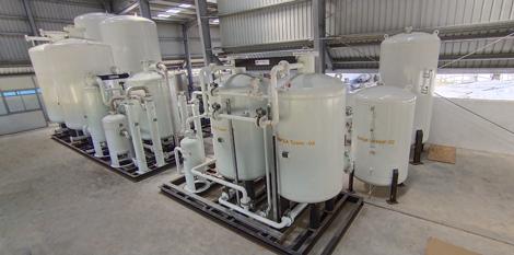 Biogas Compression and Bottling