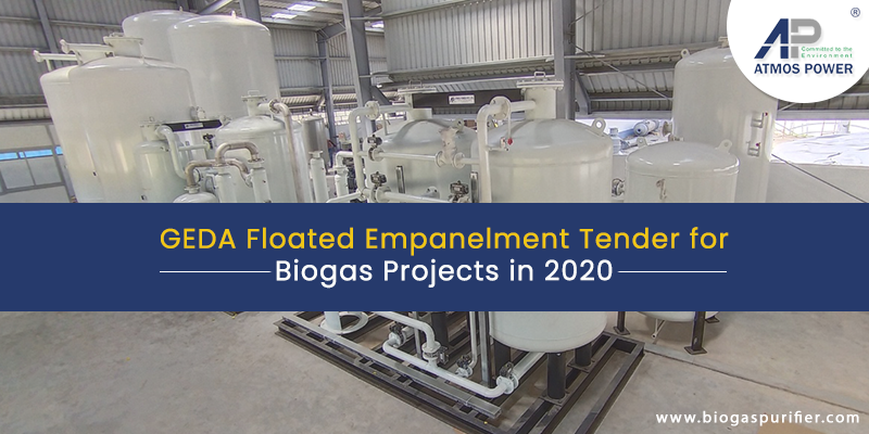 GEDA Floated Empanelment Tender for Biogas Projects