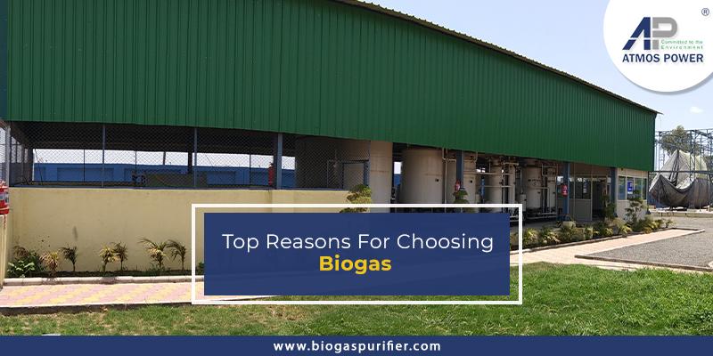 Top reasons for choosing biogas